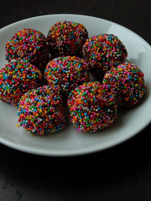 Peanut Butter & Almond Truffles, Almond Truffles