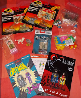 Contribution; Donations; How They Come In; Job Lot; Mixed Lot; Mixed Playthings; Mixed Toys; Recent Purchases; Show Plunder; Show Reports; Small Scale World; smallscaleworld.blogspot.com; 7 Recent Purchases Charity Shop Finds Plunder Etc DSCN9793
