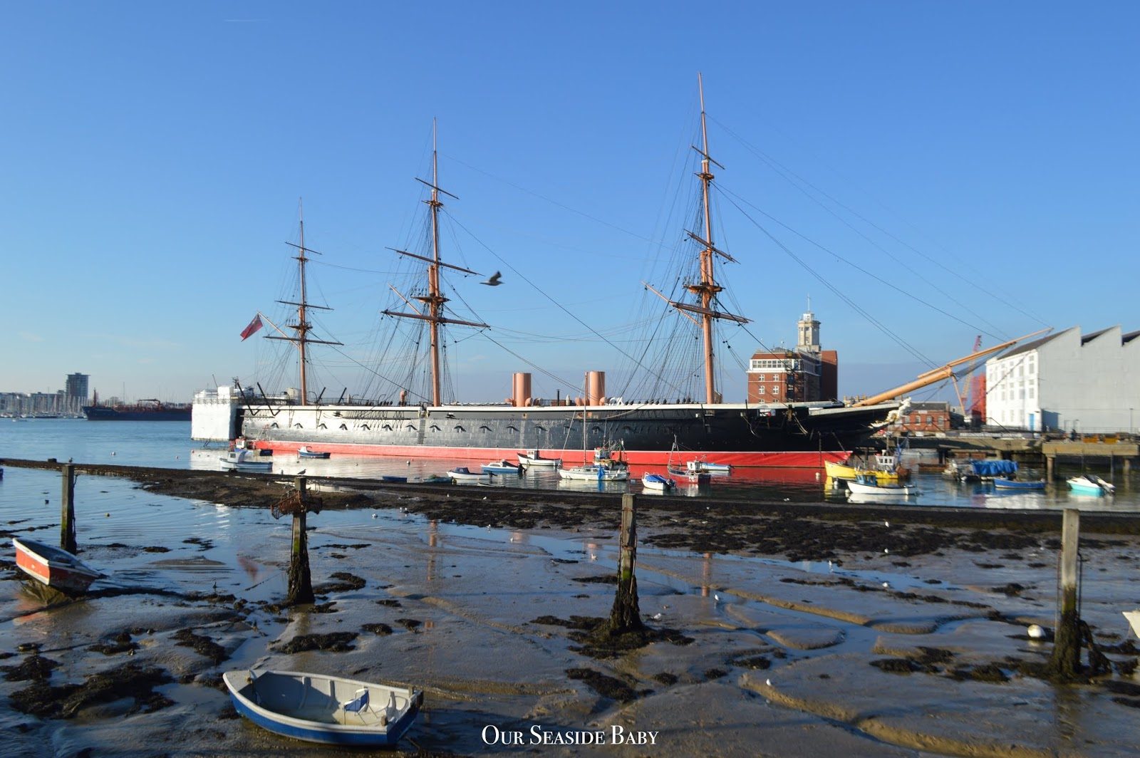 A Weekend in Portsmouth: Historic Dockyard, Mary Rose Museum & Spinnaker Tower