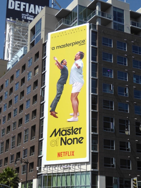 Master of None season 2 Emmy FYC billboard