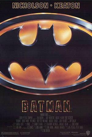 Tim Burton's Batman starring Jack Nicholson & Michael Keaton