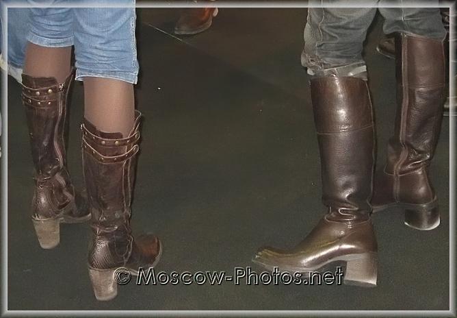 Dark Brown Winter Boots