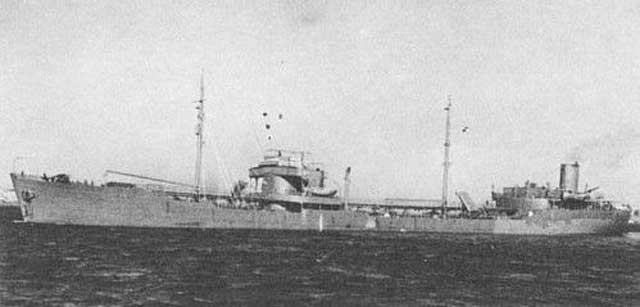 Tanker Norness, sunk by U-123 on 14 January 1942 worldwartwo.filminspector.com