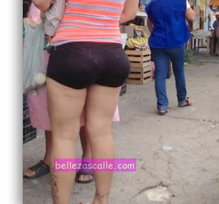 Señora sexy shorts