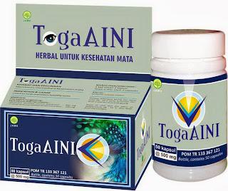 Jual Kapsul TogaAINI Herbal untuk Memelihara Kesehatan Mata
