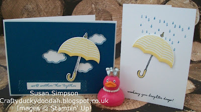 Stampin Up! UK Independent  Demonstrator Susan Simpson, Craftyduckydoodah!, Weather Together, Supplies available 24/7,