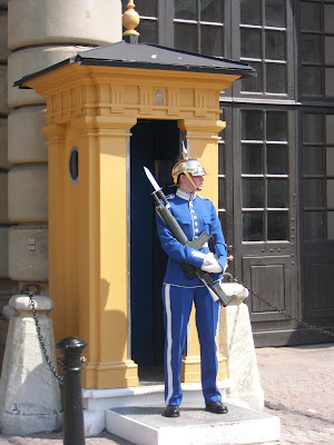 STOCKHOLM ROYAL PALACE GUARD