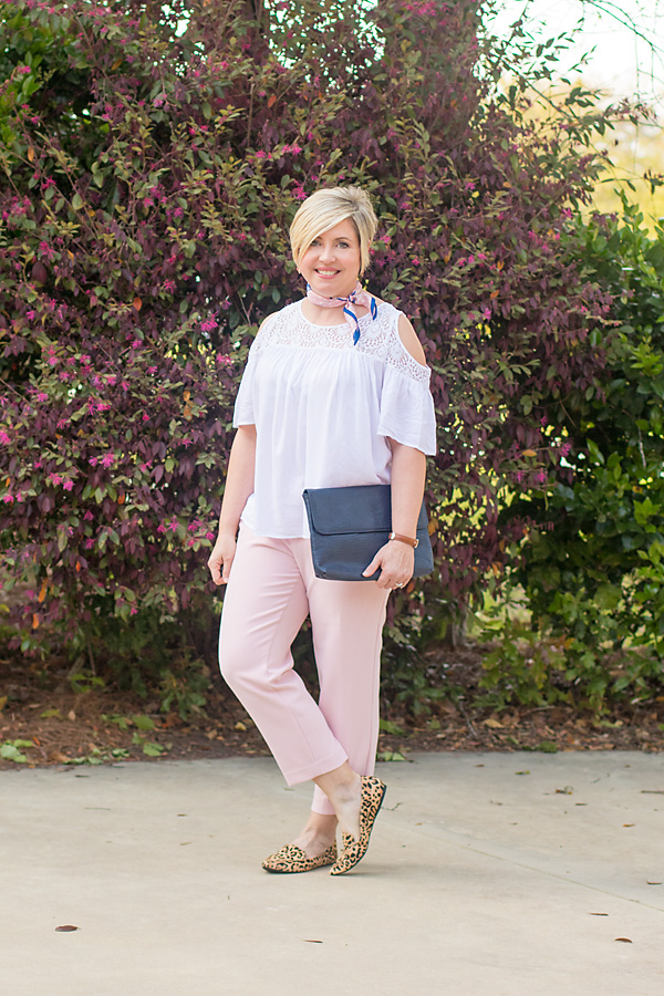 Crop pants for spring