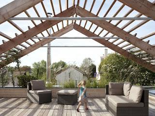 Casa de diseño de madera