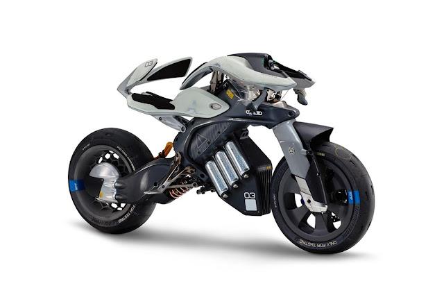 2017 Yamaha MOTOROiD Concept - #Yamaha #Concept #motorbike #superbike