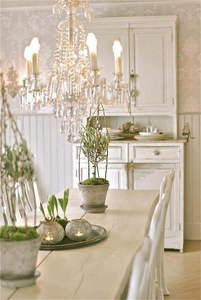 branco na decoração