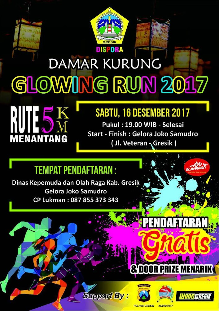 Damar Kurung Glowing Run • 2017