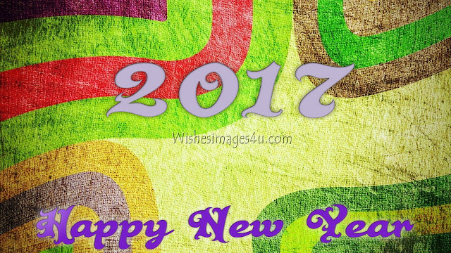 Happy New Year 2017 3D Background Wallpapers