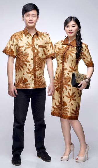 Model Baju Batik Couple Modern Untuk Pesta