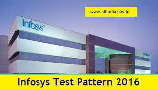 Infosys Test Pattern 2016