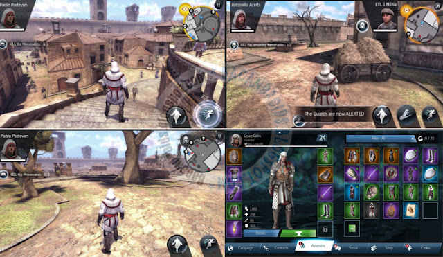 Assassin's Cred v2.8.2 identity Apk Free Terbaru For anroid Full