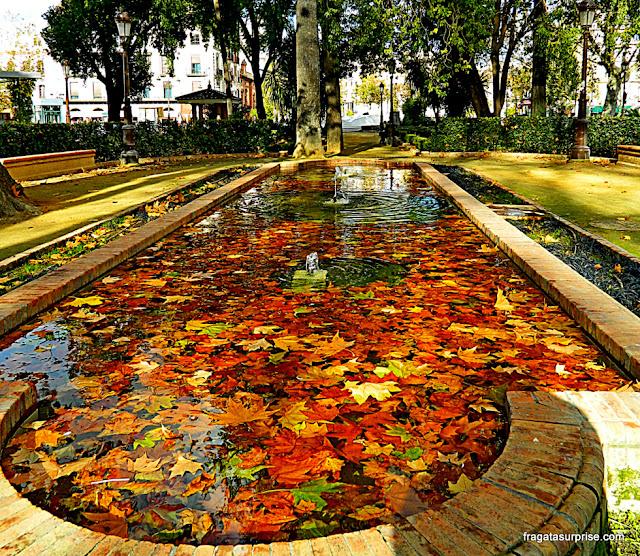Sevilha, Jardins de la Reina Cristina