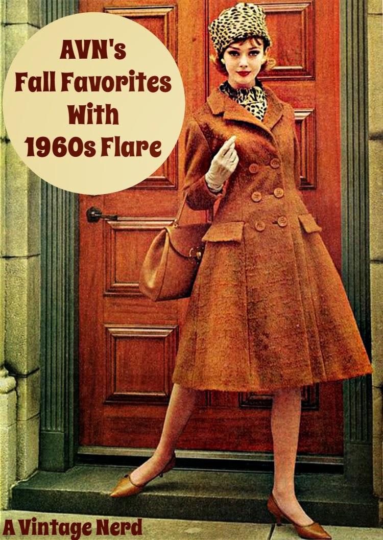 A Vintage Nerd, Retro Lifestyle Blog, Retro Fashion Blog, Fashion Inspired by the 1960s