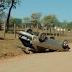 Veículo capotou na Estrada da Vigor
