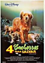 Cuatro cachorros para salvar