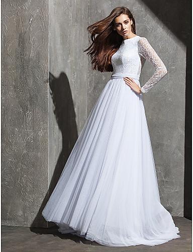 vestidos de novia con manga larga para gorditas