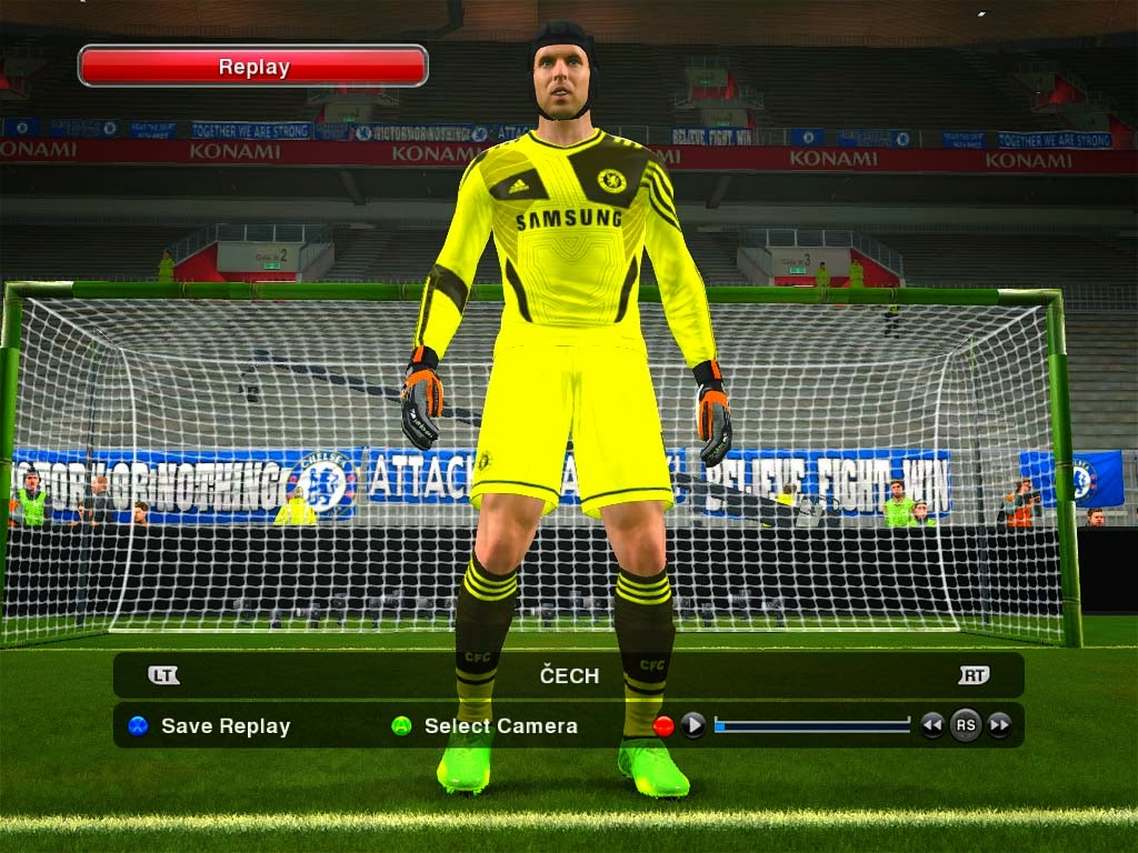 Pes-modif: PES 2014 Fantasy Kits Chelsea By AdesV