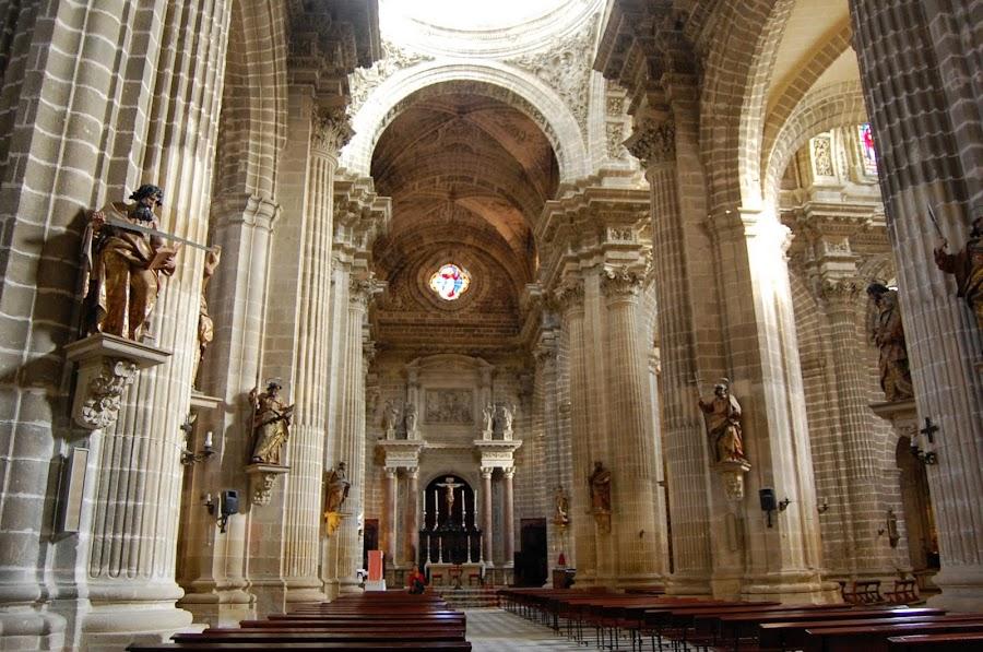 Interior de la Catedral de Jerez de la Frontera