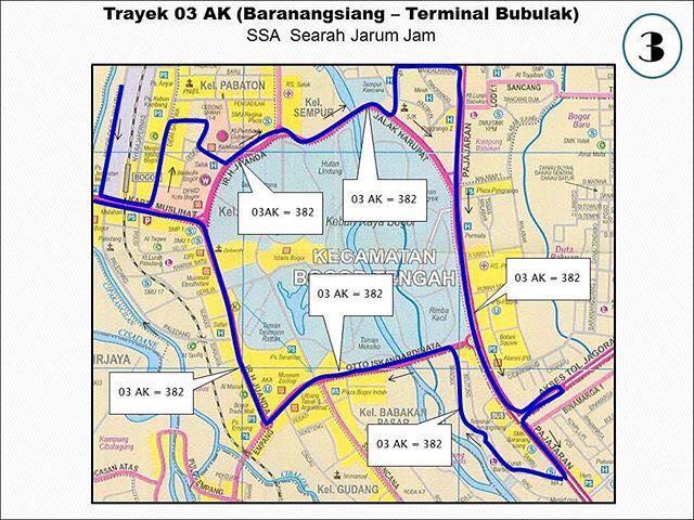 Rute Angkot Baranang Siang-Terminal Bubulak