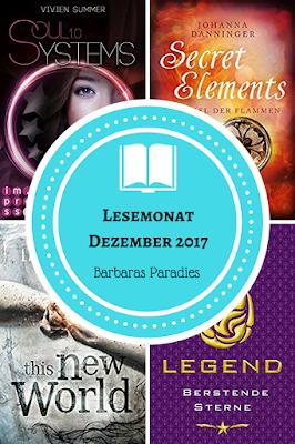Lesemonat Dezember 2017