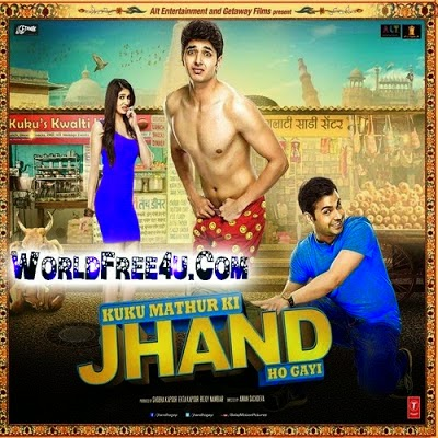 Poster Of Bollywood Movie Kuku Mathur Ki Jhand Ho Gayi (2014) 300MB Compressed Small Size Pc Movie Free Download worldfree4u.com