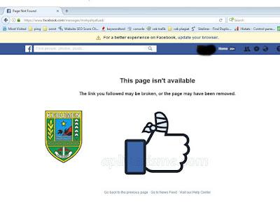 Fasilitas Lapor Bupati Lewat Facebook Tidak Lagi Dibuka, Ada Apa Dengan Bupati Kebumen?