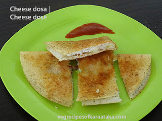 Cheese dose recipe in Kannada