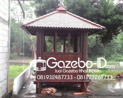 Gazeb Minimalis Pos Ronda