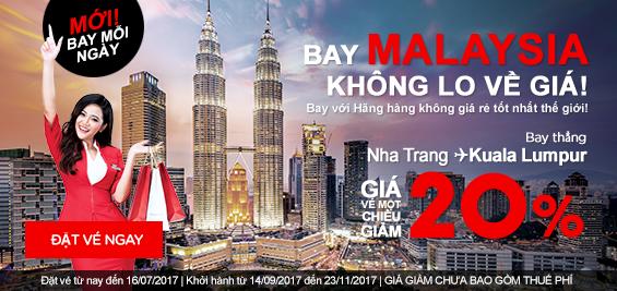 Bay Malaysia cùng Air Asia không lo về giá