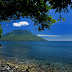 Sulamadaha Beach in Ternate Maluku Indonesia