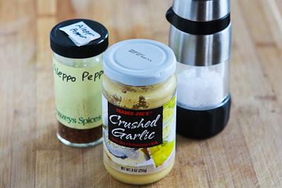 Garden Tomato No-Cook Pasta Sauce with Garlic, Basil, and Thyme found on KalynsKitchen.com