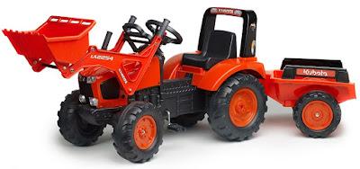 tracteur à pédales
