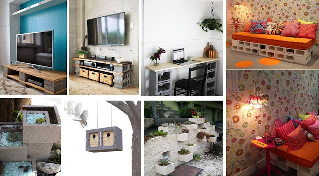 Do It Yourself Home Design: CREATIVE DO IT YOURSELF CINDER BLOCK PROJECTS FOR YOUR