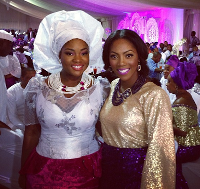 toolz tiwa savage sharon adeleke wedding