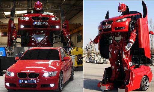 Mobil Robot,  Dijual Rp 1,8 Miliar