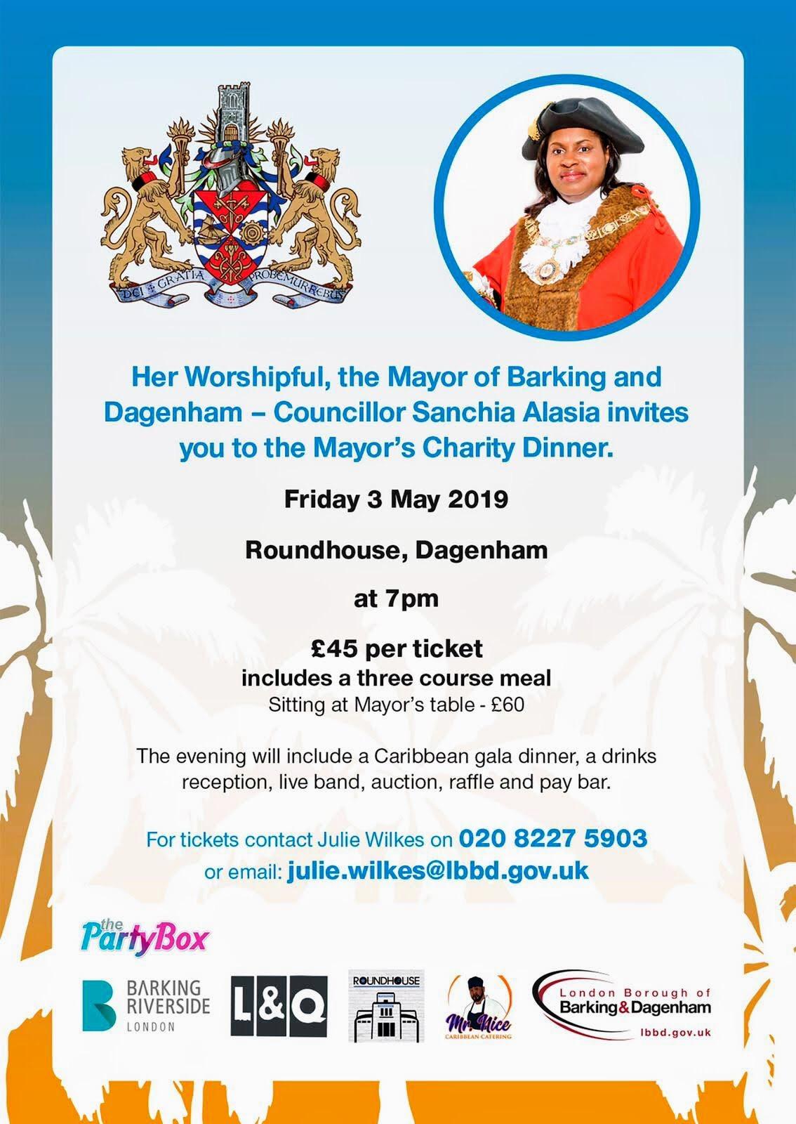 John's Labour blog: Meet the Dagenham and Barking Mayor - Charity Dinner