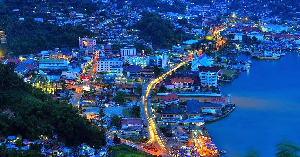 Pemandangan Kota Jayapura  Gambar Pemandangan