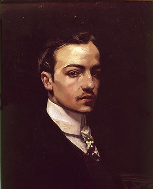 José María Rodríguez Acosta, Self Portrait, Portraits of Painters, Fine arts,  Rodríguez Aco