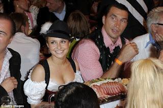 wladimir klitschko's wife in 2010