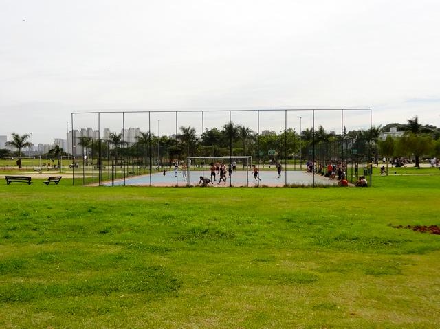 Parque Villa-Lobos - Quadras
