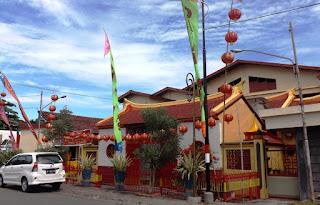 Jelang Imlek 2568, Klenteng Bao Hoa Gong Direnovasi