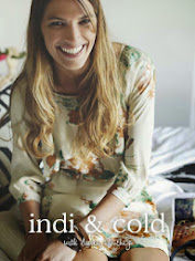 Laura Sanchez for Indi & Cold A/W 2012