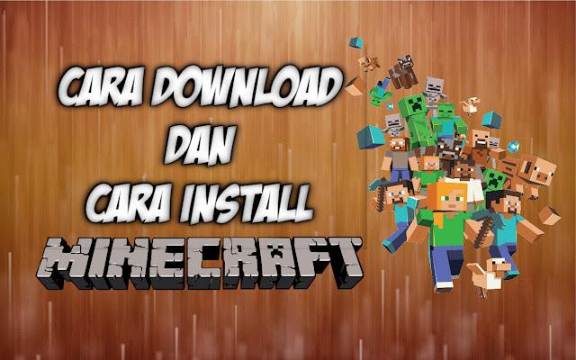 Cara Download Game Minecraft Gratis Di Laptop, PC , Komputer