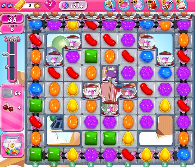 Candy Crush Saga 1714