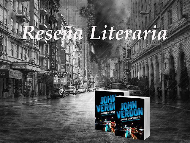 Reseña Arderás en la tormenta de John Verdon. Blog Negro sobre Blanco. María Loreto Navarro Pacheco